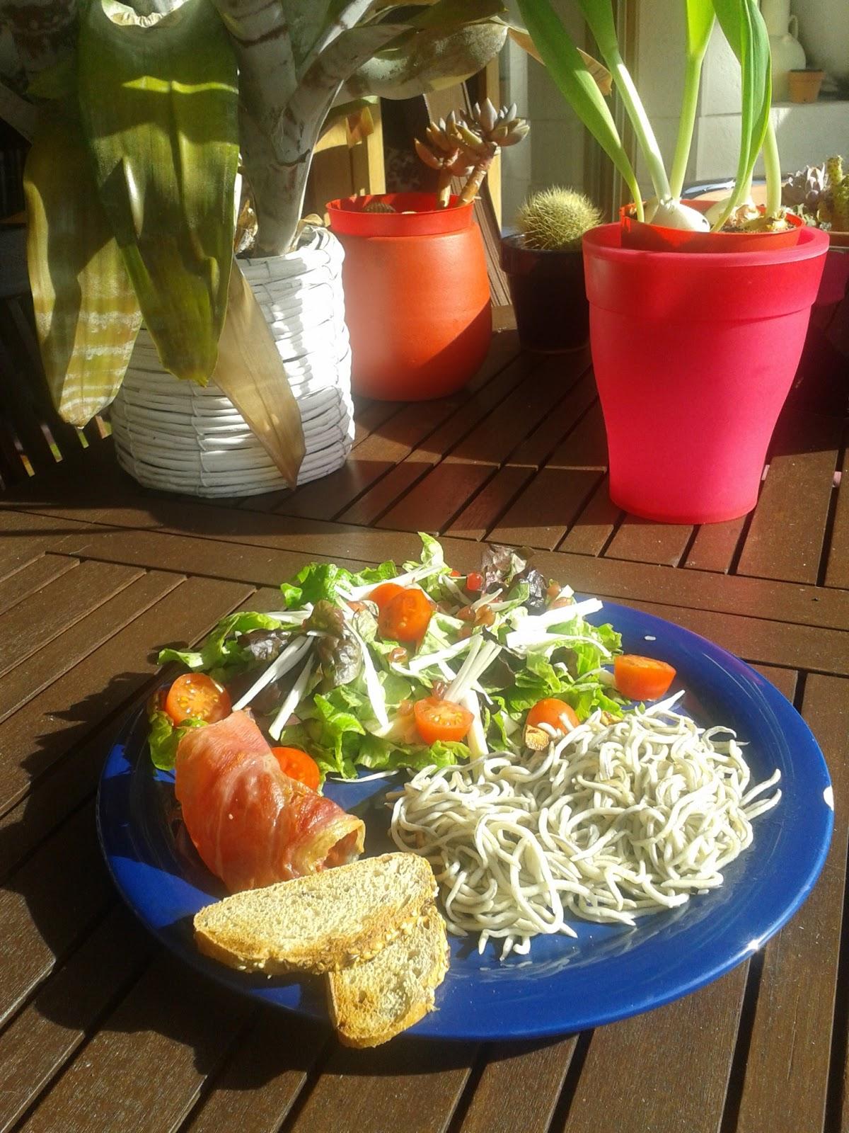 Cocinaenminiatura ensalada templada - Ensaladas con pocas calorias ...
