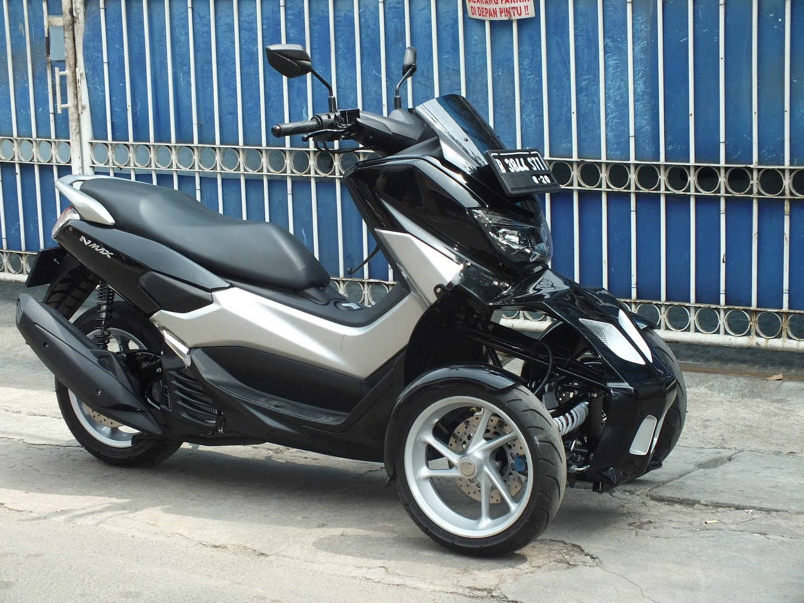 oracle modification concept yamaha nmax roda  til ting