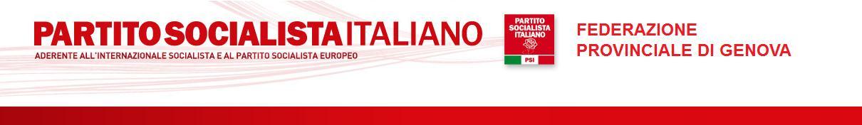 Federazione Socialista Provinciale - Genova