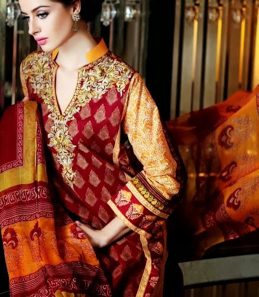 Gul Ahmed Summer Chiffon Dresses