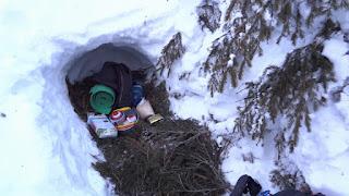 Snow Pit Bivouac