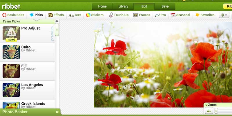 online rebbit photo editor