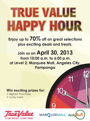 True Value Hardware Happy Hour Promo, True Value, Hardware, Promo, Promotion, Philippines