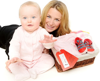 Mother and Baby Girl gifts, baby hampers