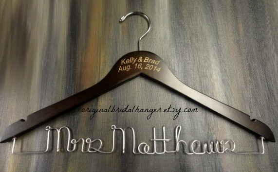 Custom Wedding Dress Hangers 2 Lovely WEDDING DRESS HANGER SALE