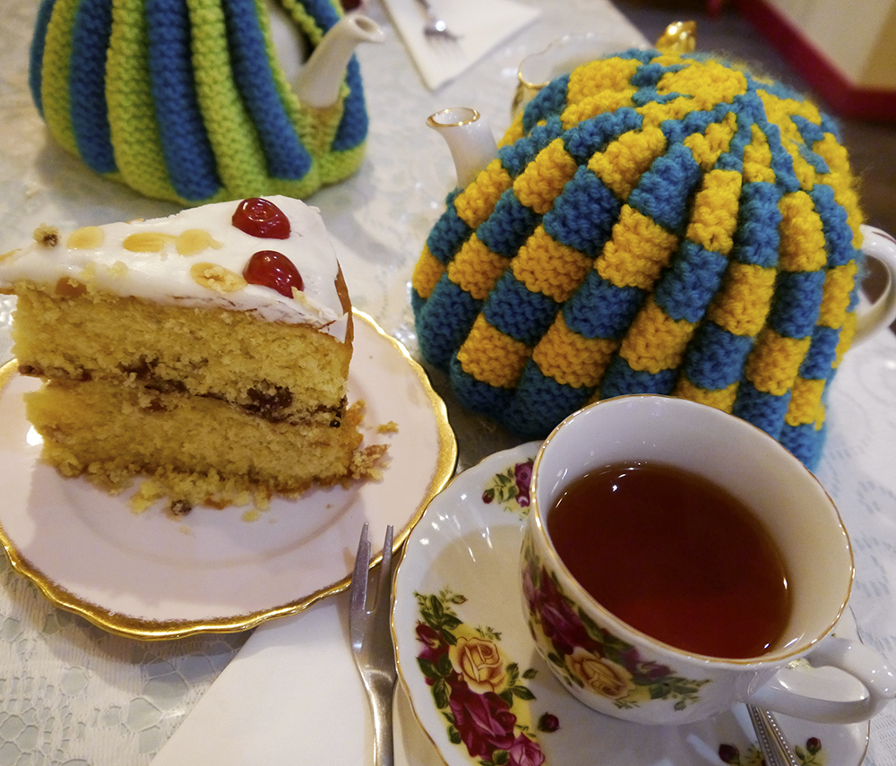 Tea and cake, afternoon tea, The Palais, tearoom, Dundee cafe