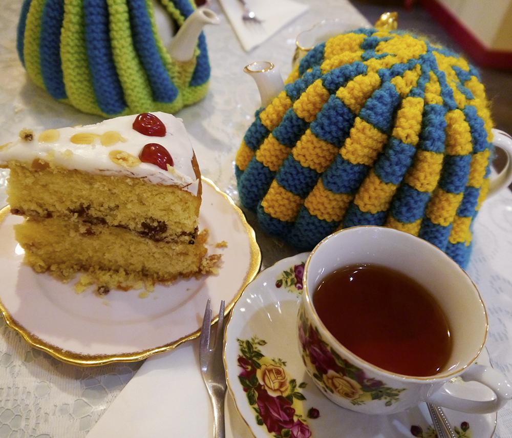 Tea and cake, afternoon tea, The Palais, tearoom, Dundee cafe