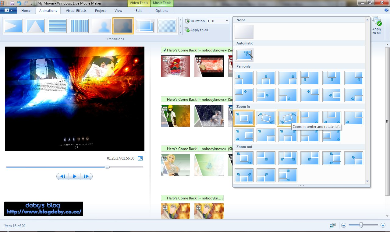 Windows Live Movie Maker 16435080205  Download
