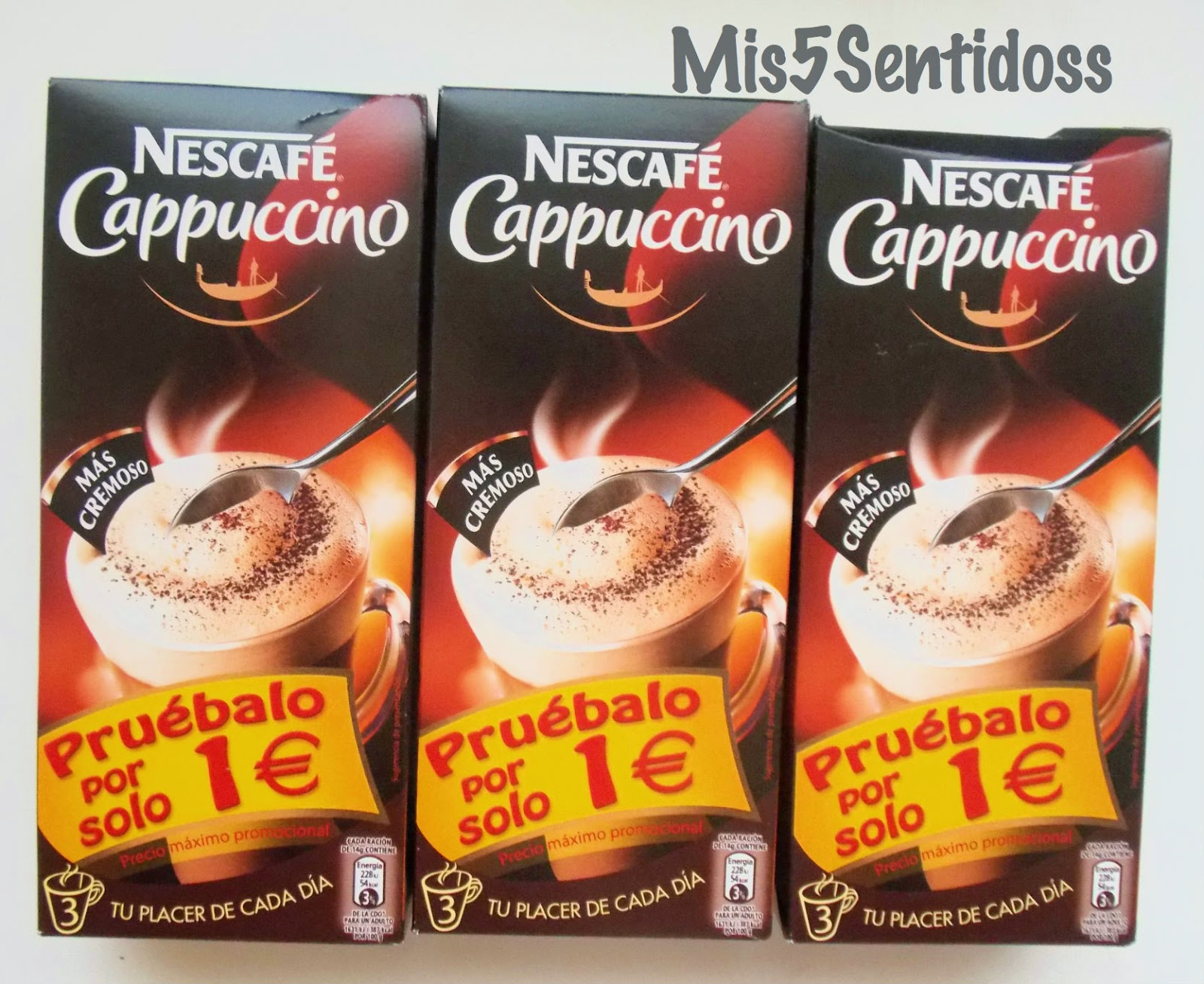 Degustabox junio 2014 Nescafé capuchino