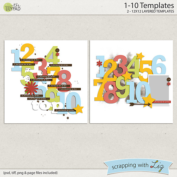 http://the-lilypad.com/1-10-digital-scrapbook-templates.html
