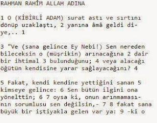 mustafa+islamoğlu+kuran+meali+o+kibirli+adam+ayeti