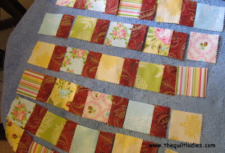 free quilt tutorial for table runner