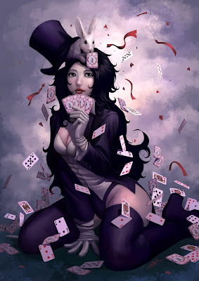 Zatanna (DC Comics) Character Review - Playing Card