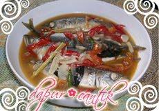 Gambar Resep Masakan Tumis Pedas Pindang Ikan Layang Dapur Cantik