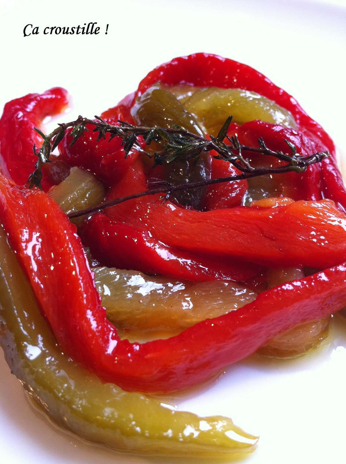 A croustille poivrons confits - Que cuisiner avec des poivrons ...