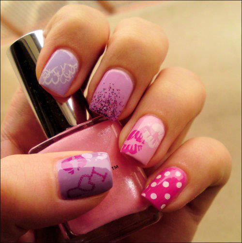 fotografias decoracion de uñas