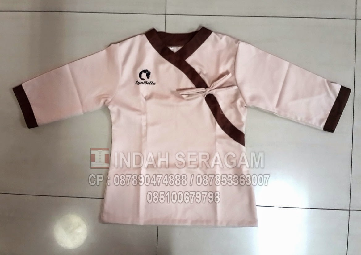 Indah seragam maret 2015 for Spa uniform indonesia