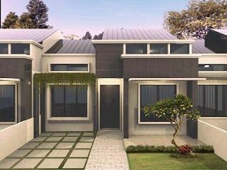 model rumah minimalis cluster