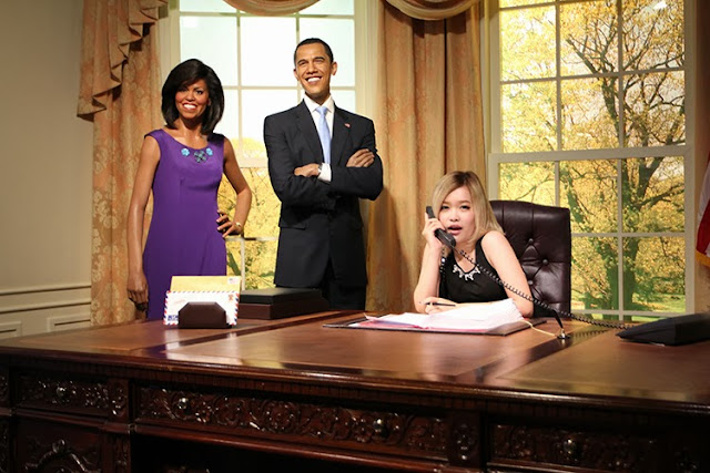 Madame Tussauds Bangkok Obama