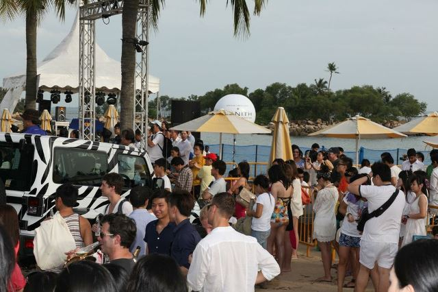 sentosa fashion beach festival singapore
