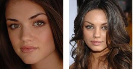Celebrity Look Alikes: Lucy Hale, Mila Kunis, Rachel ...