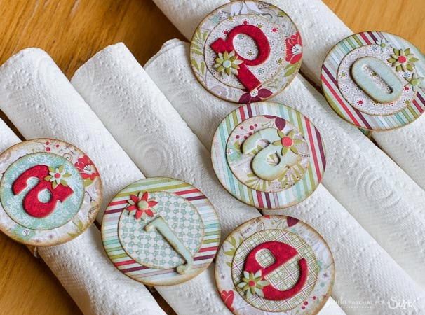 papercraft napkin decorations