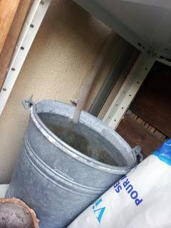 Récupération de l'eau de condensation du climatiseur