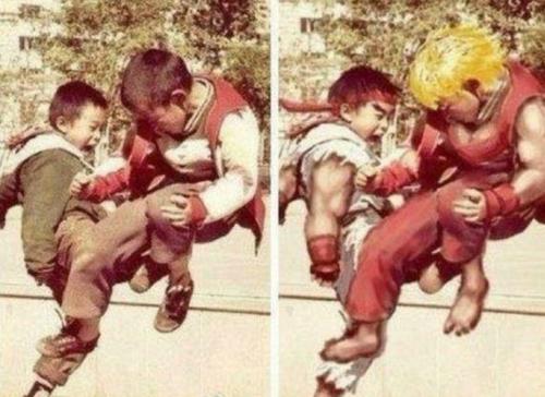 Ryu y Ken existen en la vida real