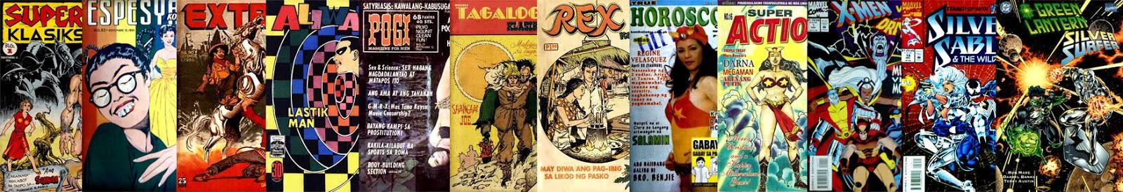 Mga komiks (comics) na lumabas sa buwan ng Disyembre