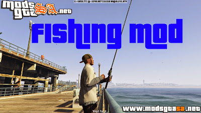 V - Mod Pescar para GTA V PC