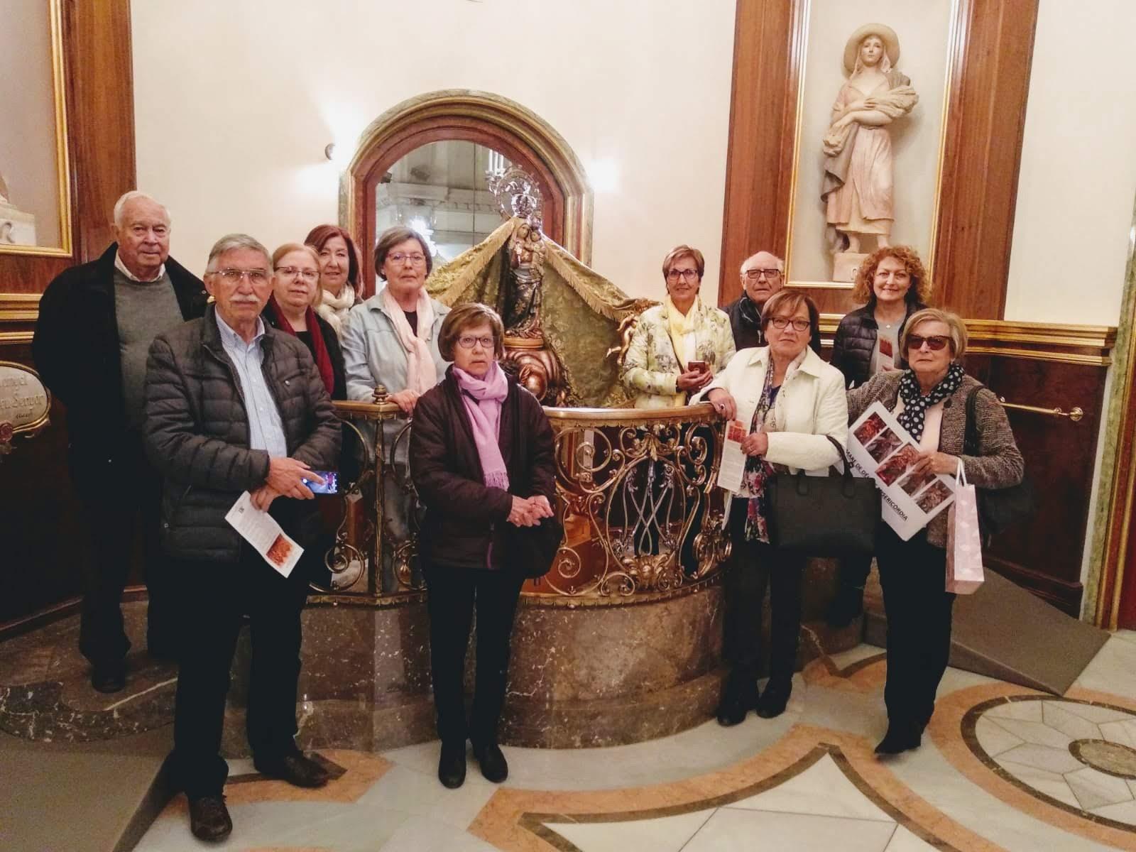 Visita/acolliment al Santuari (23-3-2019)