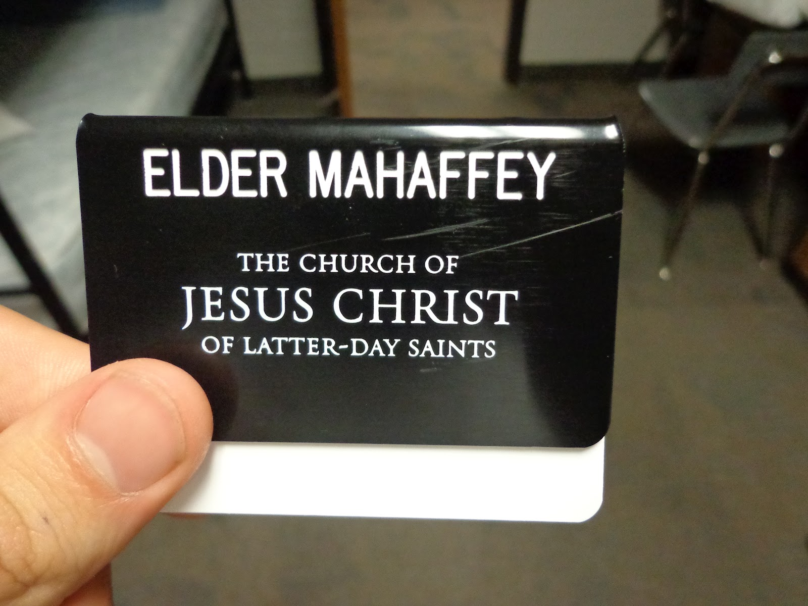 Comfortable Missionary Name Tag Template Photos