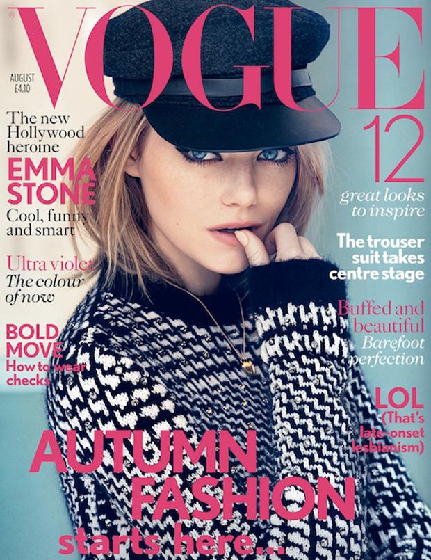 Porque amar Emma Stone_olho gatinho_capa vogue UK de agosto_Vogue britânica_o espetacular homem-aranha_spider man