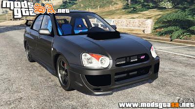 V - Subaru Impreza WRX STI 2005 para GTA V PC