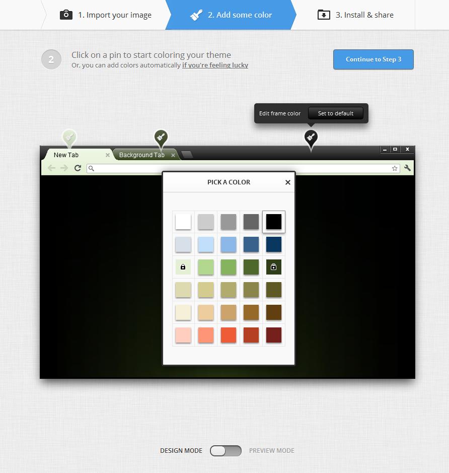 Google themes create your own - Google Chrome Theme How To Create Theme