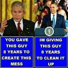 Bush or Obama