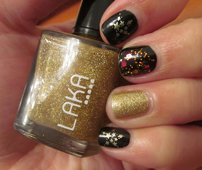 Laka - Gold French Laka 173 Barry M Gold Foil