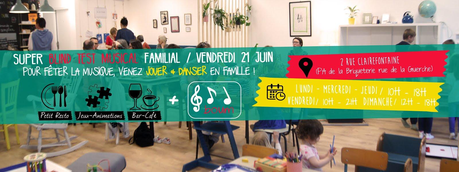 BULLE, Café Familial Associatif à Vitré
