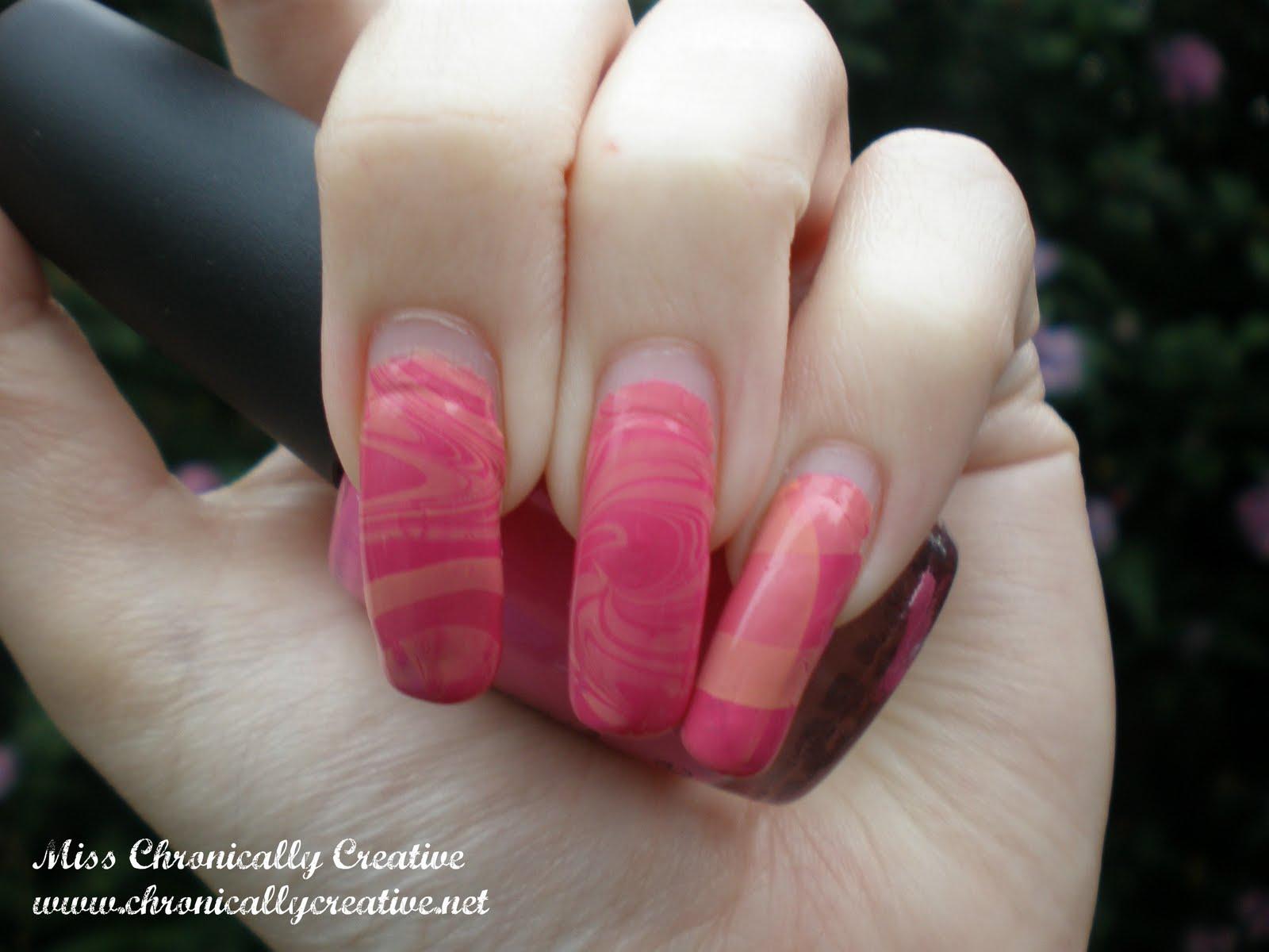 marble nail art-75