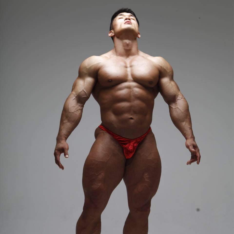 korean bodybuilder