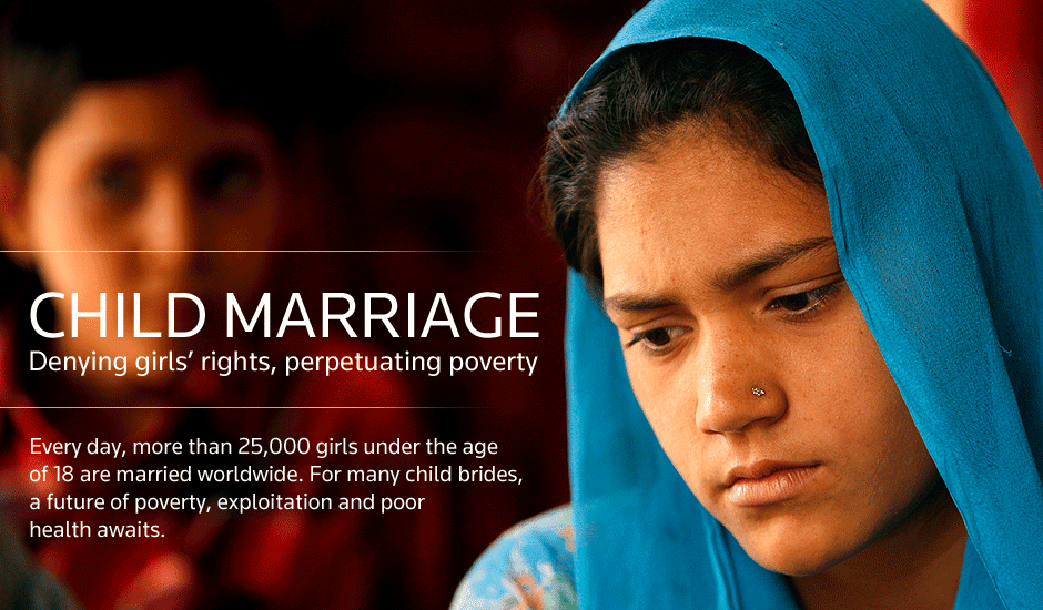 marriage at young age essay One of our key priorities is to learn what causes child marriage  transfers the control of a young girl's sexuality  are married before the age of.