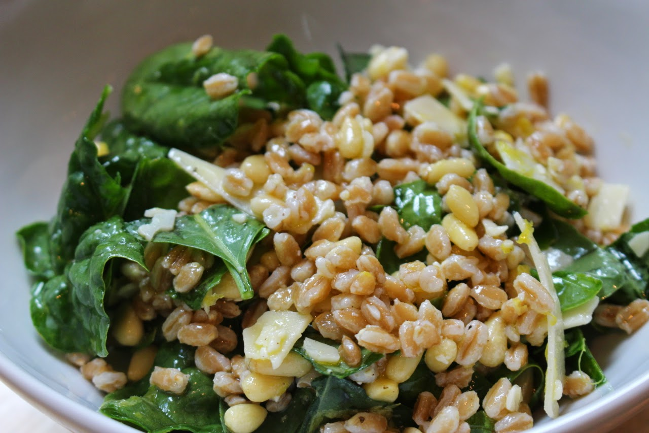 Deconstructed Pesto Salad