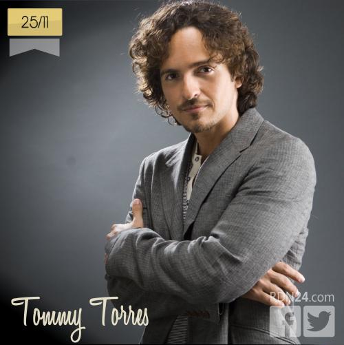 25 de noviembre | Tommy Torres - @Tommy_Torres | Info + vídeos