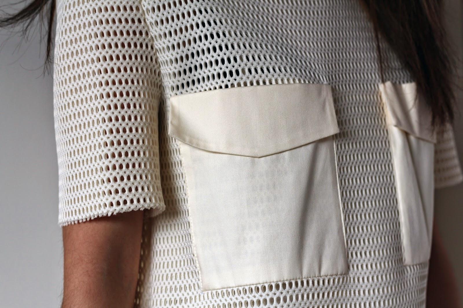 Zara Studio Dress With Pockets