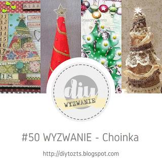50 wyzwanie- choinka