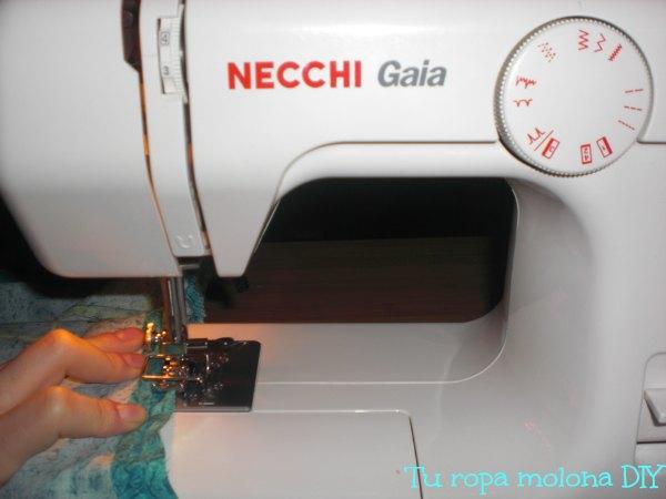 coser blusa