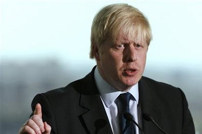Boris Johnson new mayor of london