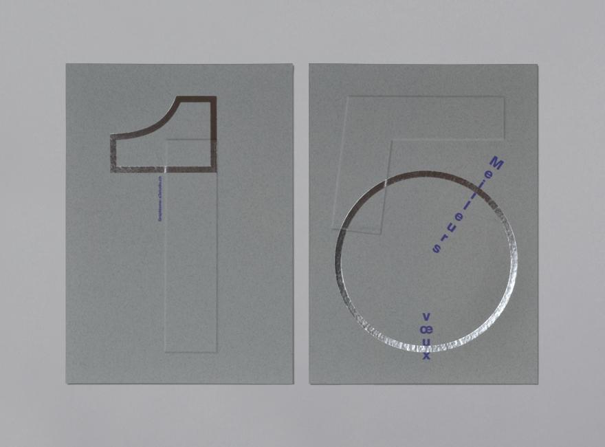A3 Studio Carte de voeux 2015 - Ville de Lausanne