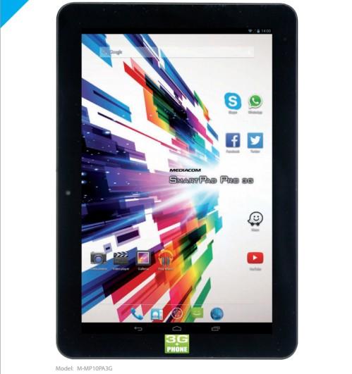 Tablet Mediacom da 10 pollici con Android Kitkat
