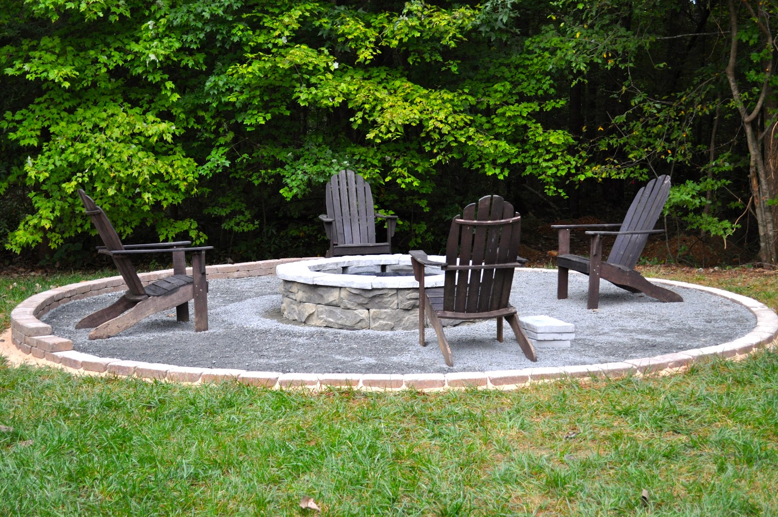 the collected interior our diy fire pit